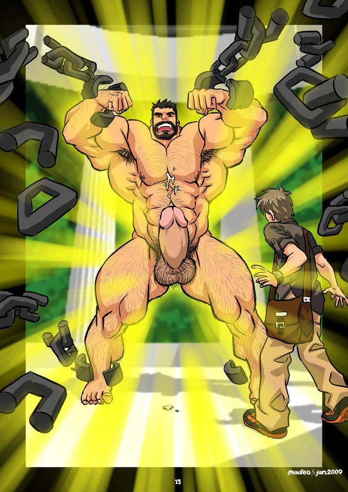 геркулес комикс гей