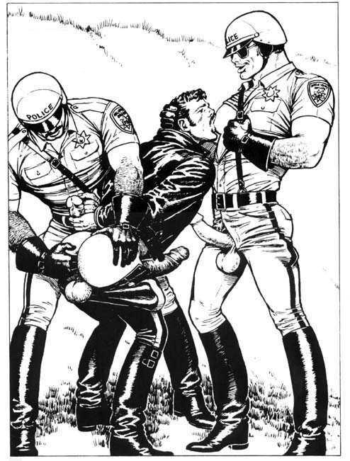 image Police cock boy gay porn prostitution sting