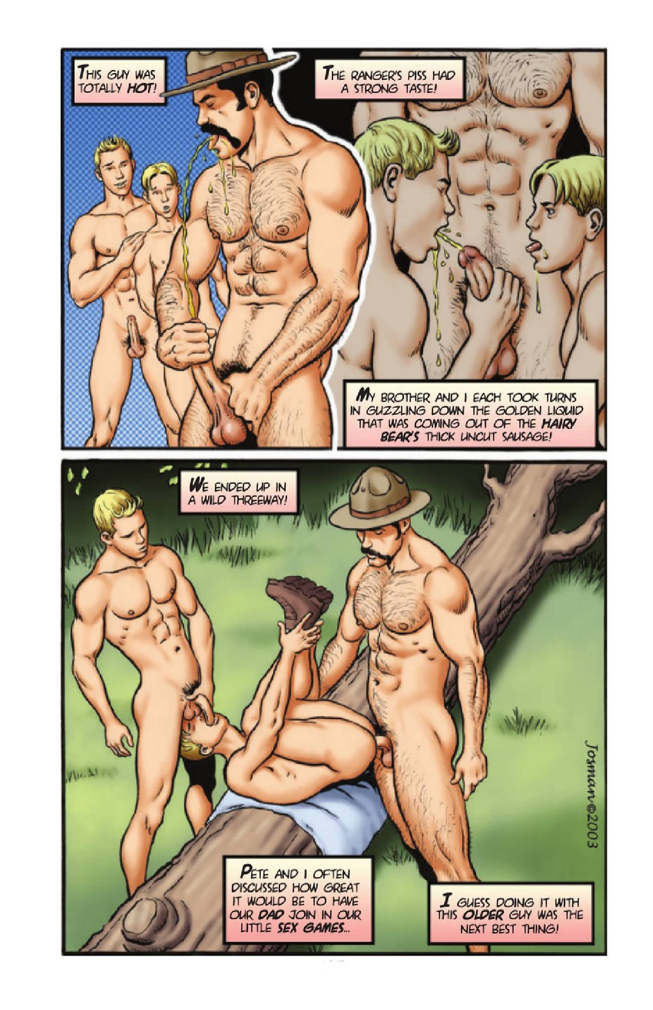 Hot gay cartoon sex