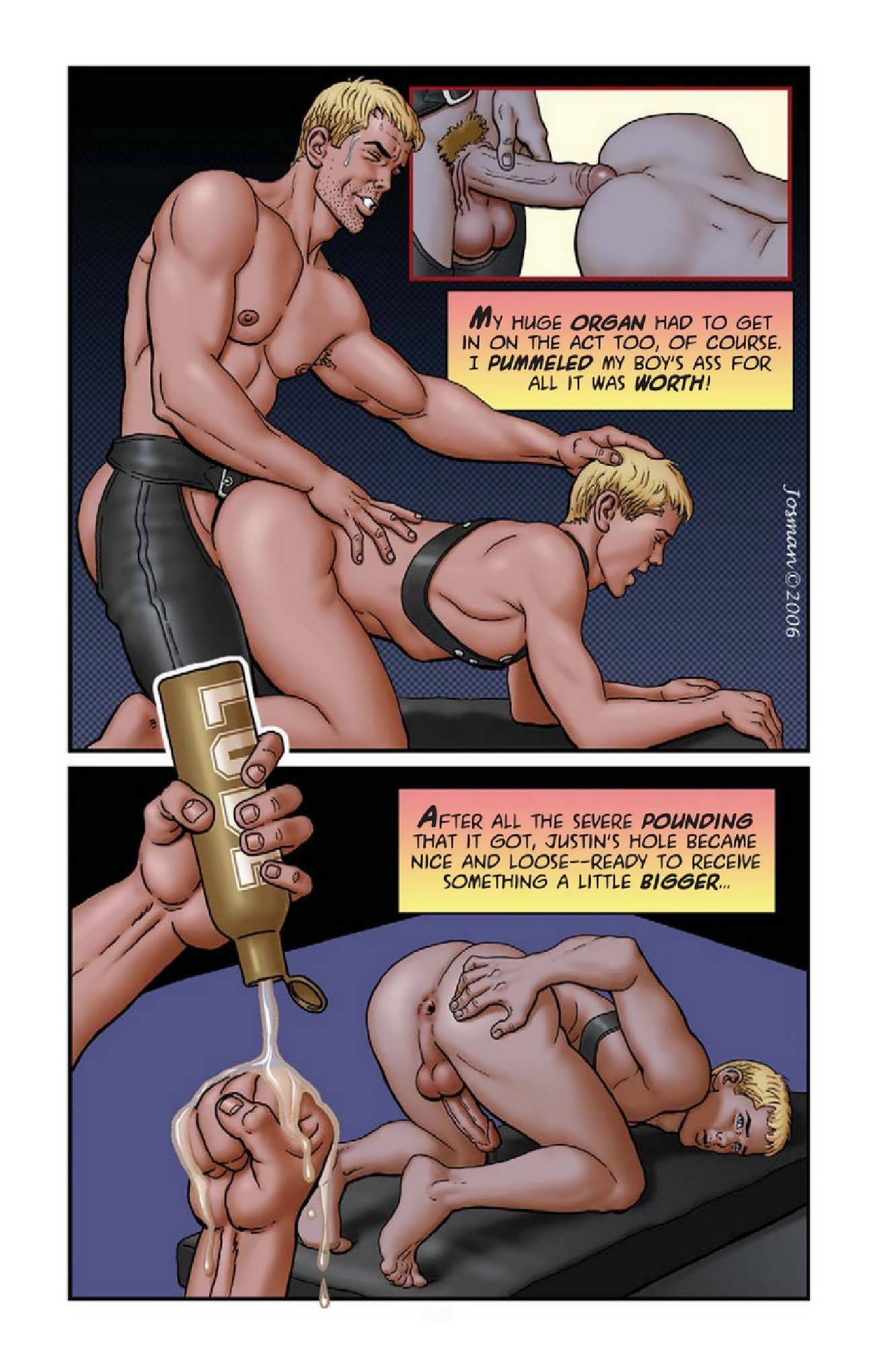 Josman Gay Comics Coach-9597