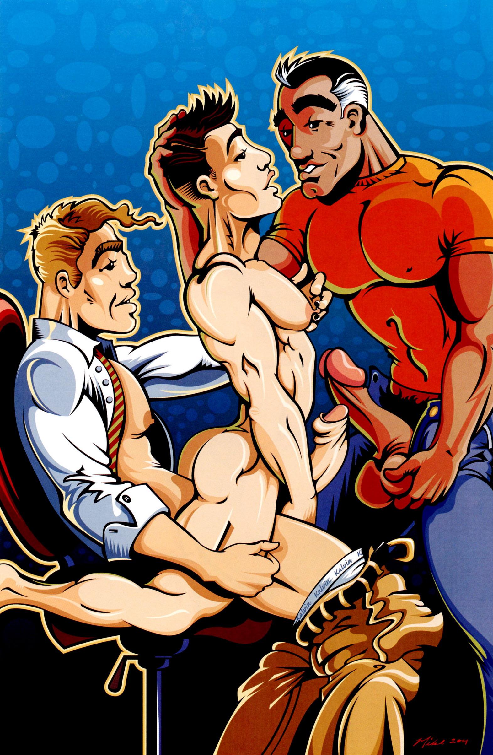 Gay Comics Comic
