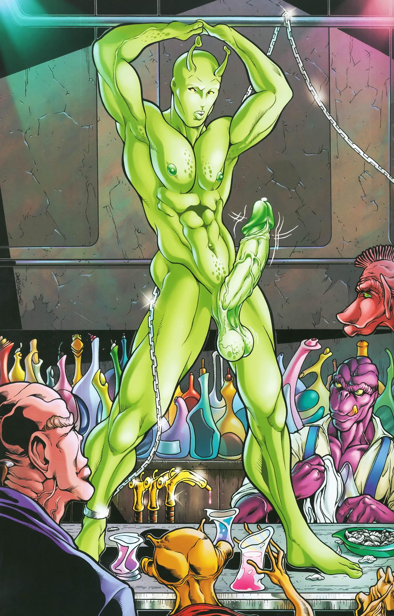 Гей Порно Инопланетяне Комикс