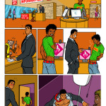 Dick y el dependiente 1