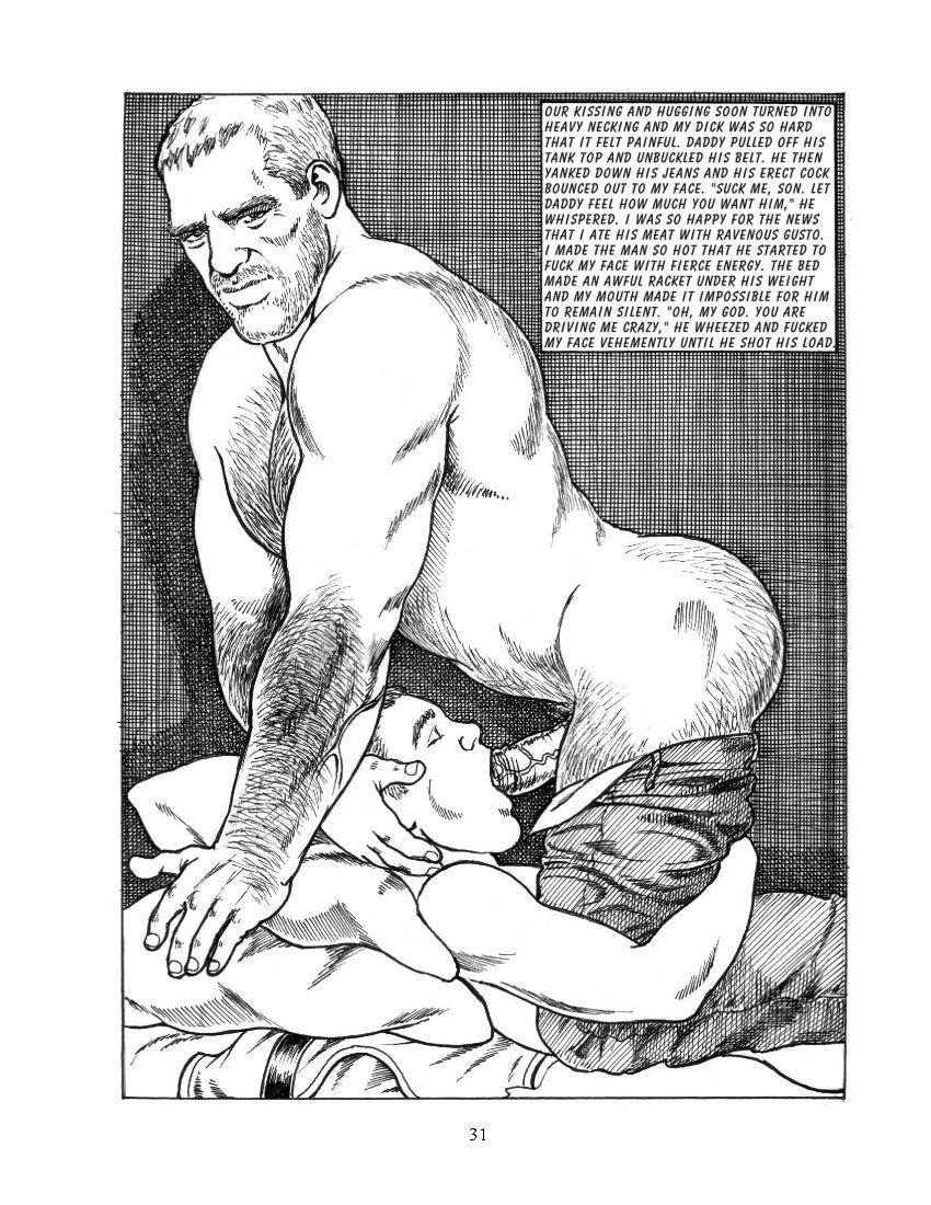 Cartoon gay porn twink big cock pubes kevin 8